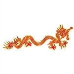 Chinese Dragon Jointed Cutout