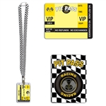 Racing Pit Pass Lanyard with Card Holder