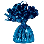 BLUE MYLAR BALLOON WEIGHT