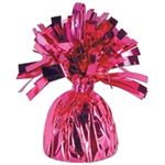 CERISE MYLAR BALLOON WEIGHT