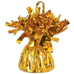 GOLD MYLAR BALLOON WEIGHT