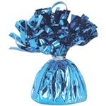 LIGHT BLUE MYLAR BALLOON WEIGHT