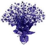 STAR GLEAM N BURST CENTERPIECE - PURPLE