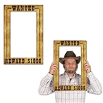 Western Wanted Poster Photo Frame