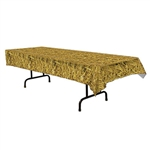 Straw Print Table Cover