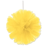 YELLOW TULLE BALLS