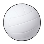 Volleyball 13.5 Inch Cutout