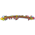 Happy Birthday Expandable Banner