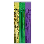 GREEN / GOLD / PURPLE CURTAIN