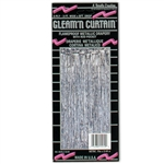 SILVER METALLIC GLEAM 'N CUTRAIN