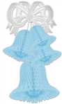 LIGHT BLUE BELL CLUSTER - 20
