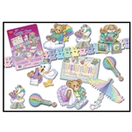 CUDDLE-TIME DECORAMA - (DECORATING KIT - BABY SHOWER)