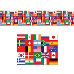 International Flags Poly Decorating Material