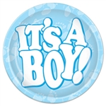 It's A Boy! 9 inch Dinner Plates