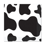 Cow Print luncheon napkins