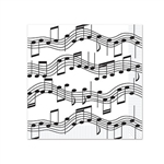 Musical Notes Beverage Napkins