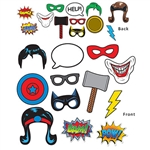 SuperHero Photo Fun Signs