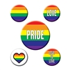 Rainbow Party Buttons