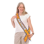 Retired Satin Sash