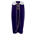 PURPLE KING / QUEEN ROBE - ADULT SIZE