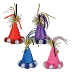 CONE HAT HAIR CLIPS