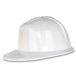 WHITE CONSTRUCTION HELMET - PLASTIC