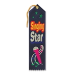 SINGING STAR AWARD RIBBON