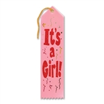 ITS A GIRL AWARD RIBBON