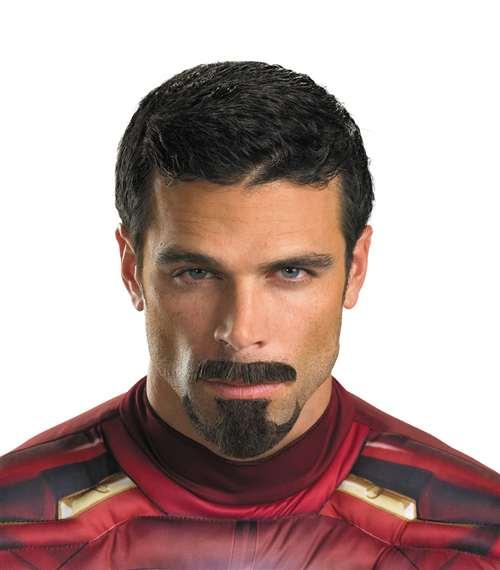 tony stark facial hair iron man 3 bartzs party stores