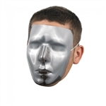 Blank Chrome Male Mask