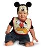 Mickey Mouse Hat and Bib Baby Costume