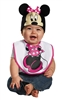 Minnie Mouse Hat and Bib Baby Costume