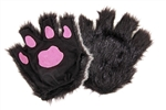 Black Paws - Fingerless Gloves