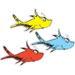 Dr. Seuss One Fish Two Fish Cutouts