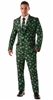 Shamrock Suit and Tie Adult Costume - Medium