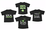 St. Patrick's Day Wine Bottle Shirts