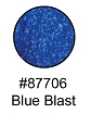 Blue Blast Glitter Glam Makeup