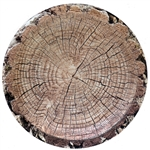 Cut Timber 7 Inch Plates