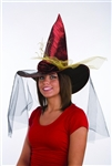 Witch Hat Metallic Assorted Colors