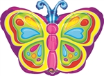 Butterfly Mylar Balloon
