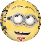 Despicable Me Orbz Foil Balloon