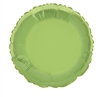 Lime Green Round Mylar Balloon
