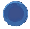 Royal Blue Round Mylar Balloon