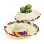 SOMBREROS STRAW MINI TABLETOP