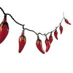 CHILI PEPPERS ELECTRIC INDOOR/OUTDOOR LIGHTS