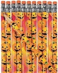 Jack O Lantern Pencils (12 Per Package)