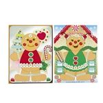Gingerbread Man Stickers