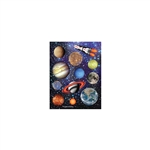 Space Blast Solar System Stickers