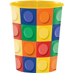 Building Block Party 16oz Favor Cup