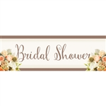 Rose Gold Bouquet Giant Banner